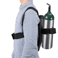 2019 Diving Snorkeling Scuba Oxygen Bottle Holder Cylinder Bracket Backboard Back Pad Assembly Gas Cylinder Backpack For Diving