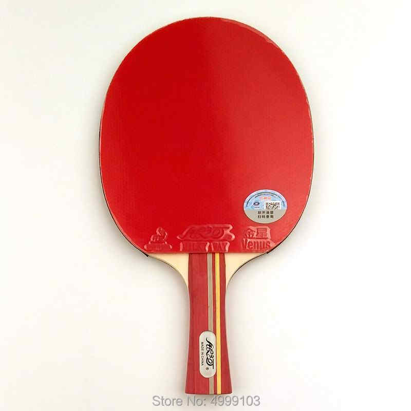 Original yinhe 02b table tennis racket finished racket ping pong racquet game fast attack with loop