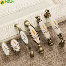 High Quality Creative Retro Furniture Handles Drawer Cabinet Pulls Knobs Dresser Door Handle Knob CZ-0214