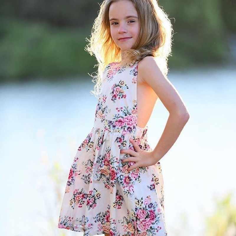 3e47b633381 Вечерние и свадебный сарафан обувь для девочек пикантные летние платья  хлопок платье принцессы дети праздник пляжный