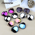 Iboode Spiegel Kinder Sonnenbrille Kinder Reflektierende Sonnenbrille Marke Design Junge Mädchen Shades UV400 Harz Objektiv Baby Goggle Brillen