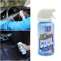 자동차 급속 냉각제 냉매 여름 신속하게 냉각제 차량 아이스 스프레이 단일 병