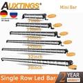 Auxtings Dünne LED Licht Bar Einreihige 7