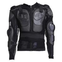 1xMotorcycle Full Body Armor Protector Pro Street Motocross Guard Shirt Jacket&F