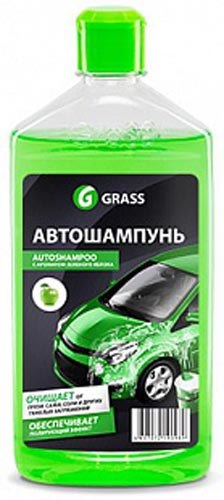 Car Shampoo GRASS Wagon (Apple Green) 1L автошампунь grass универсал яблоко 1l 111100 2