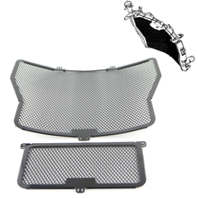 Radiator Guard Grill Oil Cooler Cover Protector Aluminum For BMW S1000RR 2009-2016 S1000XR 2015 S1000R 2014 2015 2016 engine timing inspection crank case screw plug cap cover for bmw g450x 08 10hp4 12 15 s1000r s1000rr s1000xr 2013 2014 2015 2016