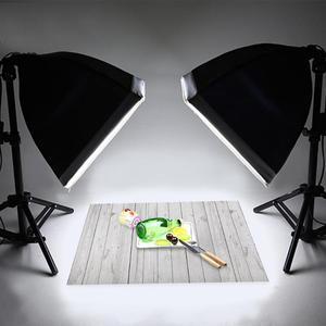 Image 4 - 60 × 90 センチメートルヴィンテージ木製ボード写真撮影の背景スタジオビデオアート布生地デスクテーブル写真の背景ドロップデコレーション小道具