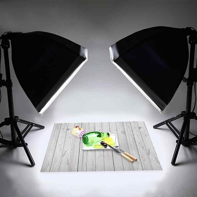 60x90cm Vintage bois conseil photographie décors Studio vidéo Art tissu bureau Table Photo fond goutte décoration accessoire