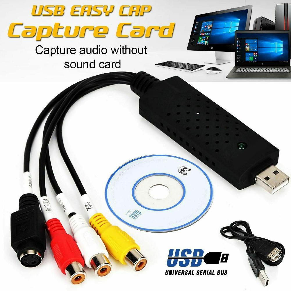 DVR Adapter For PC Windows And Mac OS Premium USB 2.0 Video Grabber