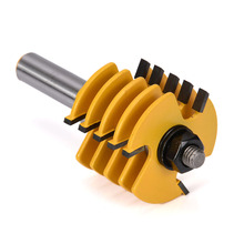 цена на 1pc 1/2 Shank Adjustable Box & Finger Joint Router Bit Woodworking Cutter Tool Practical Engraving Machine Milling Cutter