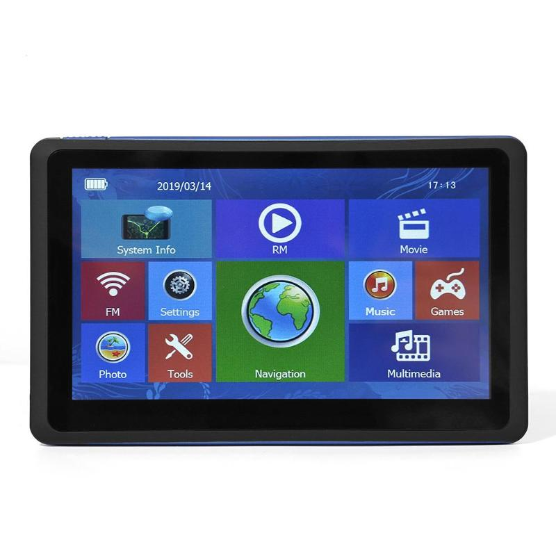 Portable 7 inch Touch Screen GPS Navigation 128MB+8GB GPS Navigator w/ Map Multi GPS with built-in polymer lithium batteryPortable 7 inch Touch Screen GPS Navigation 128MB+8GB GPS Navigator w/ Map Multi GPS with built-in polymer lithium battery