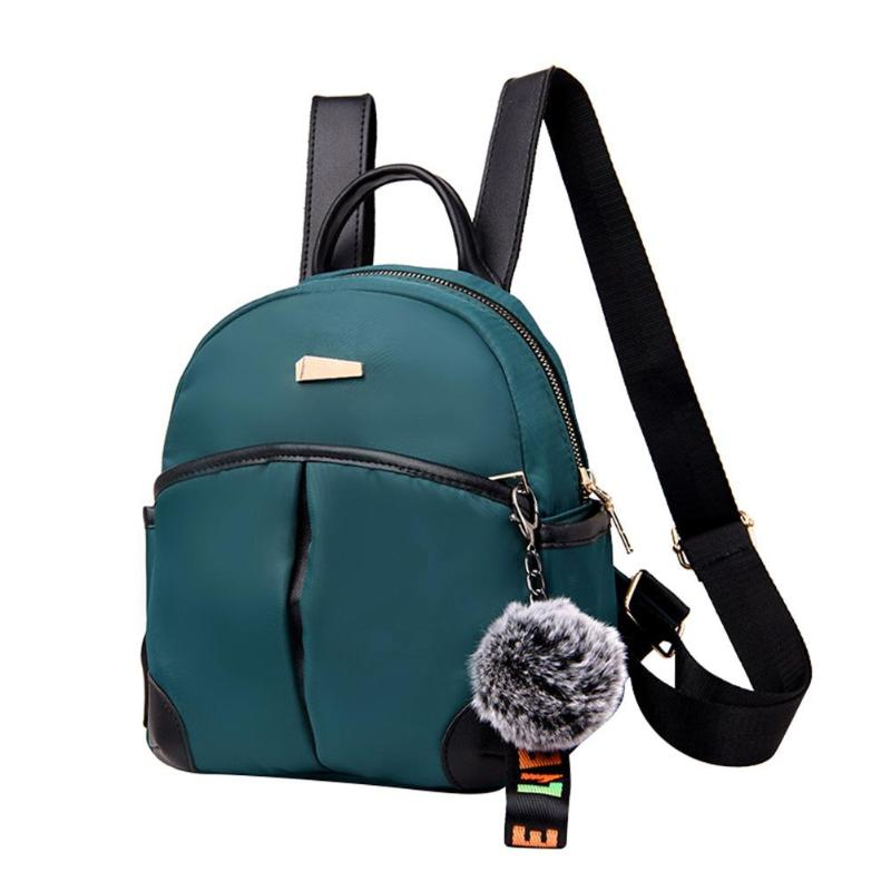 a87f1a51b664 Повседневное нейлоновый рюкзак для женщин досуг мяч Back Pack корейские  женские дорожные сумки для девочки-