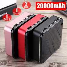 Mini 20000mAh Phone Mobile Charger Quick Charing 3.0 For Iph