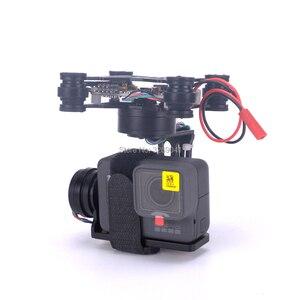 Image 2 - 3 achsen Bürstenlosen Gimbal Storm32 Control FPV Gimbal stecker und spielen Für GoPro Hero 3 4 5 6 S500 S550 DJI Phantom