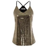 GK S ~ 2XL пикантные Короткие топы для женщин, летняя Клубная одежда, вечерние, роскошные элегантные черные/Золотые бретельки с v-образным вырез...