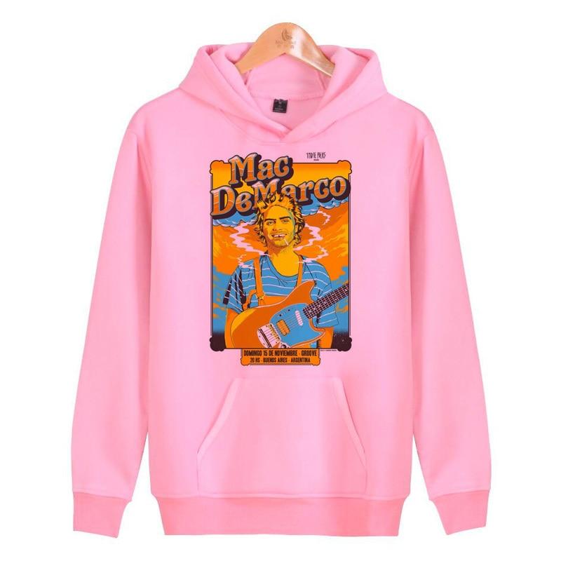 Mac Demarco Hoodies Sweatshirts Homme Harajuku Male Hoddies Hip Men/women Pullover Hop Streetwear J1728
