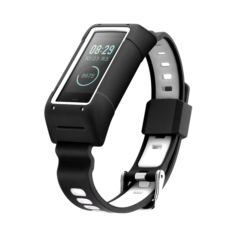 Silicone strap For <font><b>Amazfit</b></font> <font><b>Cor</b></font> <font><b>2</b></font> Band A1712 Smart <font><b>bracelet</b></font> wristband adjustable size Quick release <font><b>Amazfit</b></font> <font><b>Cor</b></font> strap image