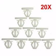 20X agrafe de garniture darc de roue