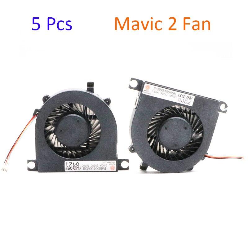 5 Pcs Original DJI Mavic 2 Rack Fan Assembly Replacement Mavic 2 Pro Zoom Fan Spare