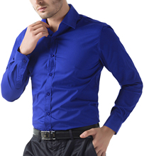Fashion Mens Luxury Long Sleeve Shirt Casual Slim Fit Stylish Tops Trendy Cool
