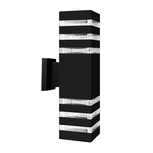 Image 1 - Lampe dextérieur imperméable, design industriel, éclairage dextérieur, design moderne, éclairage den haut et den bas à mur LED, luminaire décoratif dextérieur, idéal pour un jardin