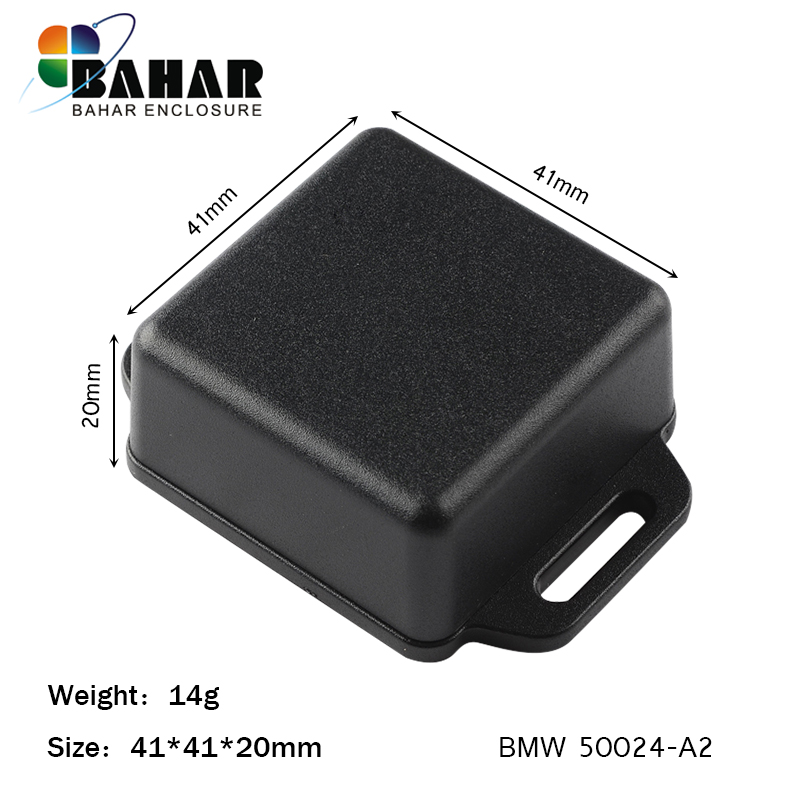 Bahar Wall mounting electronics plastic ABS 100 pieces enclosure from Bahar Enclosure 41 41 20 mm