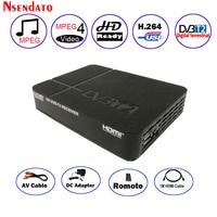 Digital Terrestrial DVB T2 DVBT2 DVB T2 H.264 Set Top TV Receiver Box + HDMI Cable Adapter For Europe/Russian/Thailand/Columbia