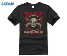 GILDAN 2018 Spearfishing shirt  Short Sleeve Print Tee Apnea Make My Own T Shirt