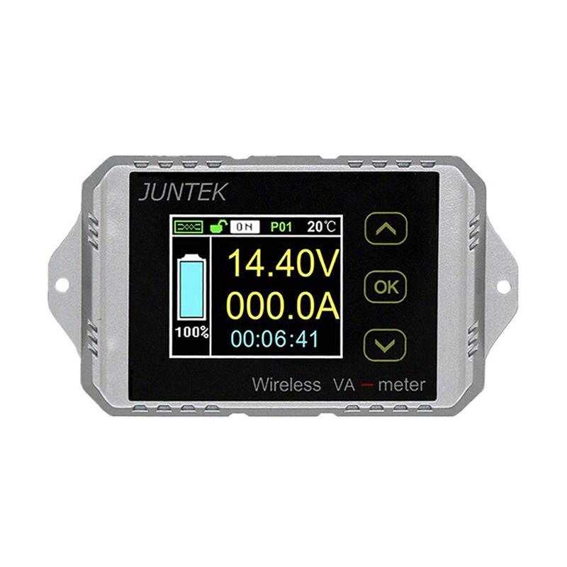 Nouveau compteur de tension et de courant sans fil Juntek Vat1300 100 V 300A surveillance de batterie de voiture 12 V 24 V 48 V compteur de Coulomb Va