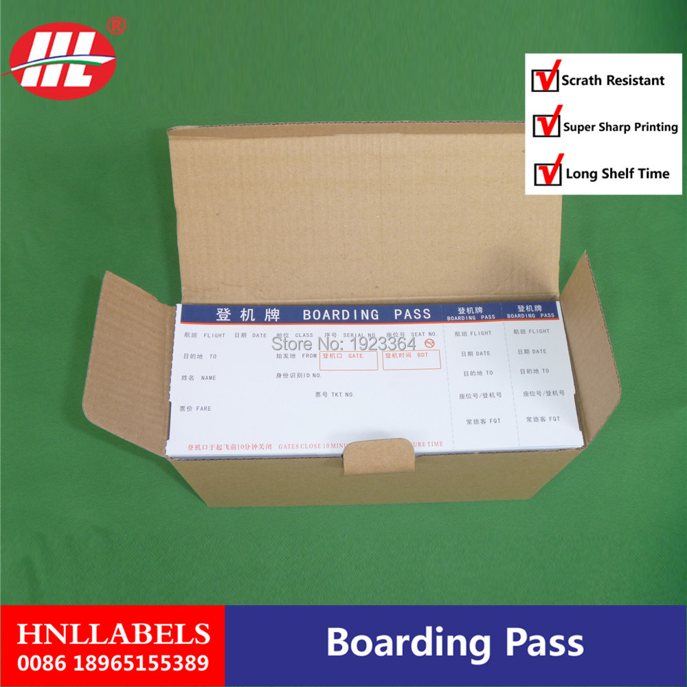 Sponsored Listing  Contact Supplier  Chat Now! Custom Thermal Paper Boarding Pass Airline Ticket Printing/entrance Ticket/admis