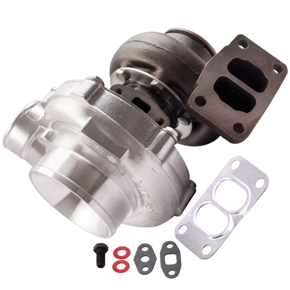 T70 57 garniture 0.7 compresseur A/R 0.82A/R Turbine refroidi à l'huile Turbo chargeur 600BHP pour 1,8l-3.0L moteur turbocompresseur