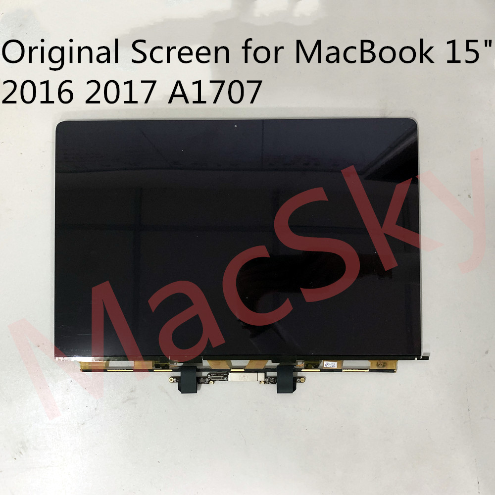 Véritable Nouvel Ordinateur Portable Matrice pour MacBook Pro 15