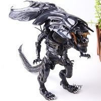 Aliens Alien Queen Hybrid Metal Figuration #047 PVC Queen Alien Xenomorph Figure Action Collection Model Toys