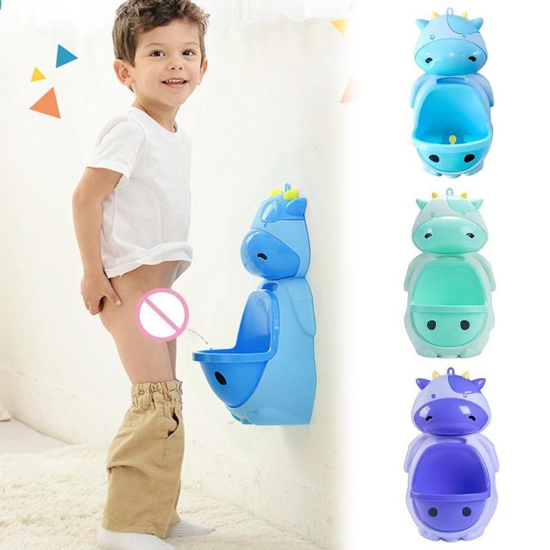 1 Pc Tier Cartoon Design Baby Junge Frosch Töpfchen Wc Urinal Pee Trainer Wand-montiert Kinder Töpfchen Wc Ausbildung Stehen Novel (In) Design;