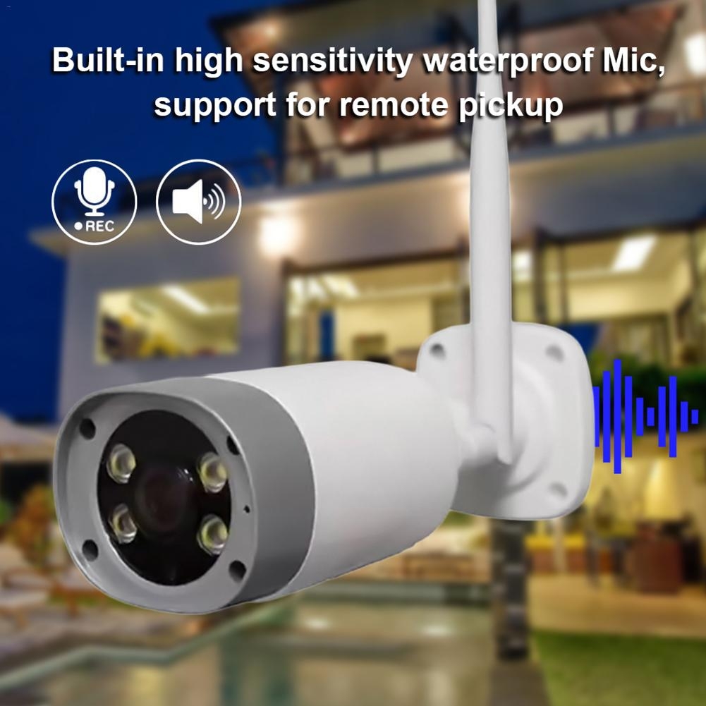 Ip-Camera Outdoor Monitoring Bullet Wifi Motion Night-Vision Security Infrared HD 1080P