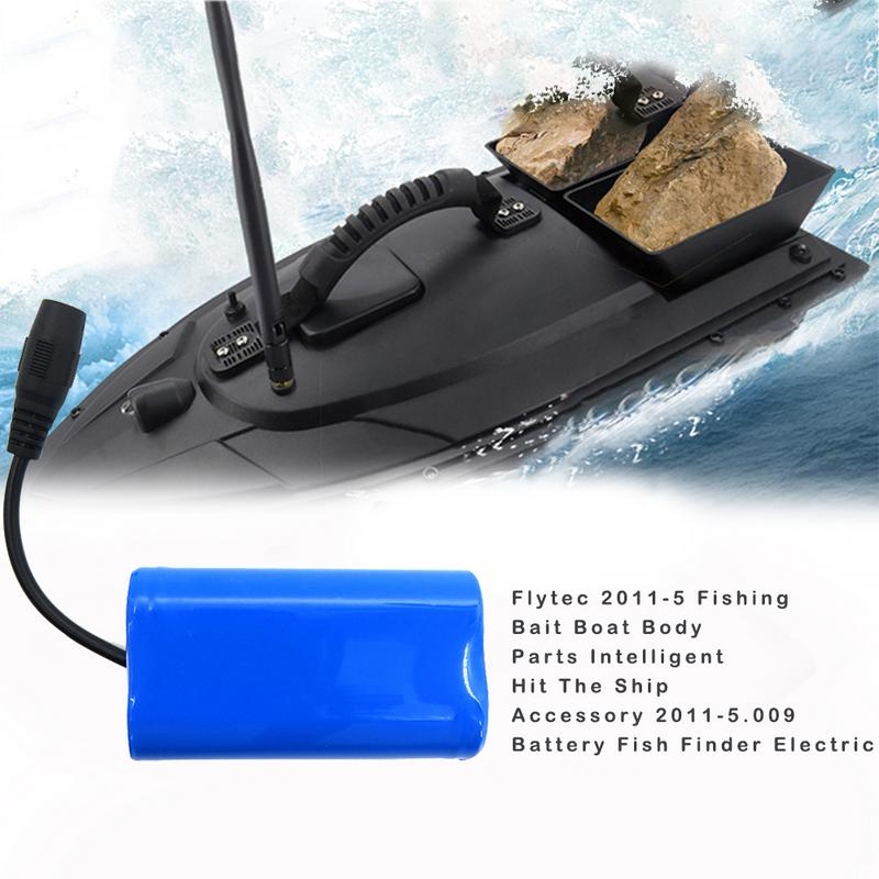 Flytec 2011 5 Fishing Bait Boat Battery Body Parts Smart RC Bait Boat Toys 2011 5.009 Battery Repair Replacement Tool Dropship