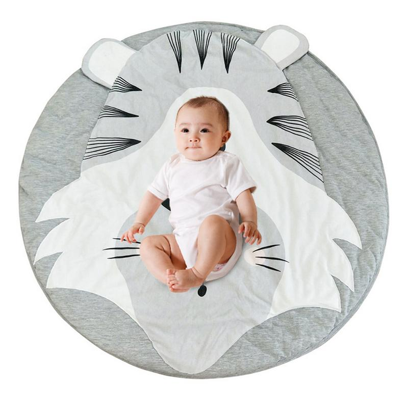 INS Baby Infant Play Mats Kids Crawling Carpet Floor Rug Baby Bedding Rabbit Blanket Cotton Game Pad Children Room Decor
