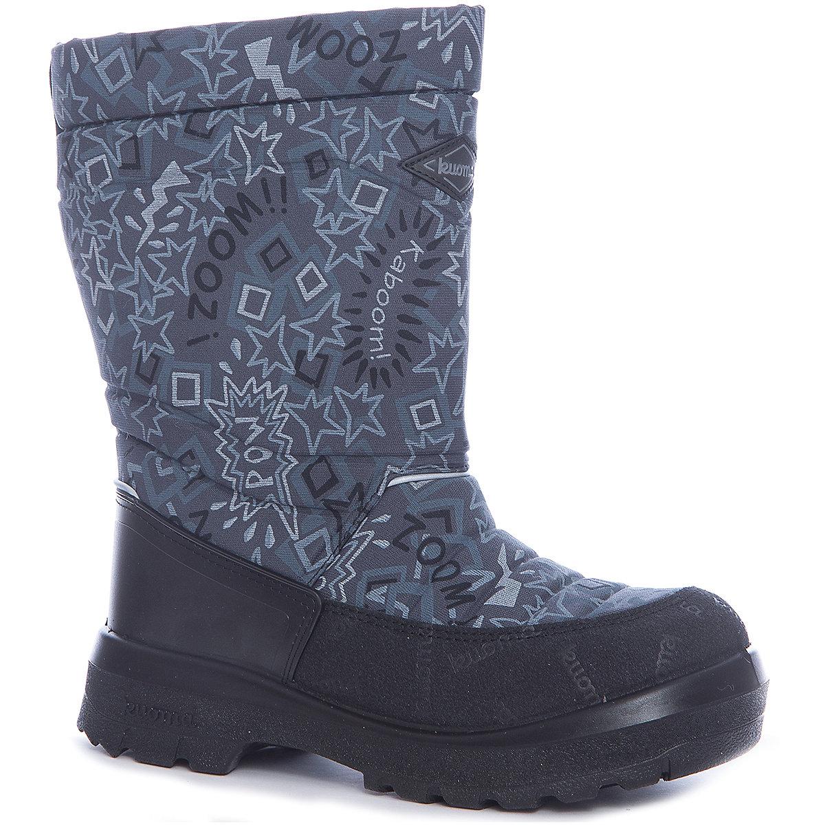 Boots KUOMA for boys 7047442 Valenki Uggi Winter shoes Children Kids MTpromo reima boots 8624989 for boys winter boy children shoes