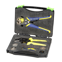 Multifunctional JX D5301 Manganese Steel Ratchet Crimping Tool Wire Strippers Terminals Pliers Kit