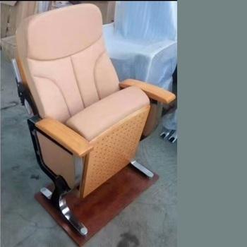 Tkaniny komercyjne krzesła kinowe może to zrobić jak popyt kolor tkaniny krzesła do pokoju konferencyjnego kościołów krzesła z witting pokładzie tanie i dobre opinie CB-GF01 Meble sklepowe Teatr mebli 505*760*1000mm color can do as you demand or yellow as picture stainless steel + Fabric