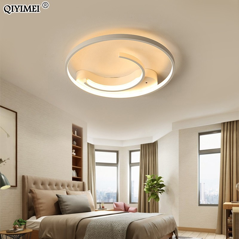 New Modern LED Chandeliers Lamps for living room bedroom inner C or CC shape with remote control Internal and external bright New Modern LED Chandeliers Lamps for living room bedroom inner C or CC shape with remote control Internal and external bright