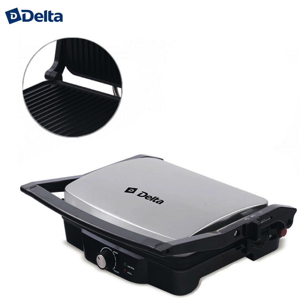 Electric Grills & Electric Griddles delta 0R-00002427 Cooking Appliances Electric Press Grill DL-045 kitchen electric fashion