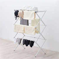 X Folding Drying Rack Modern Floor Holder Standing Rust Proof Indoor Cloth Hanger Balcony Multi Function Drying Rack For XIAOMI