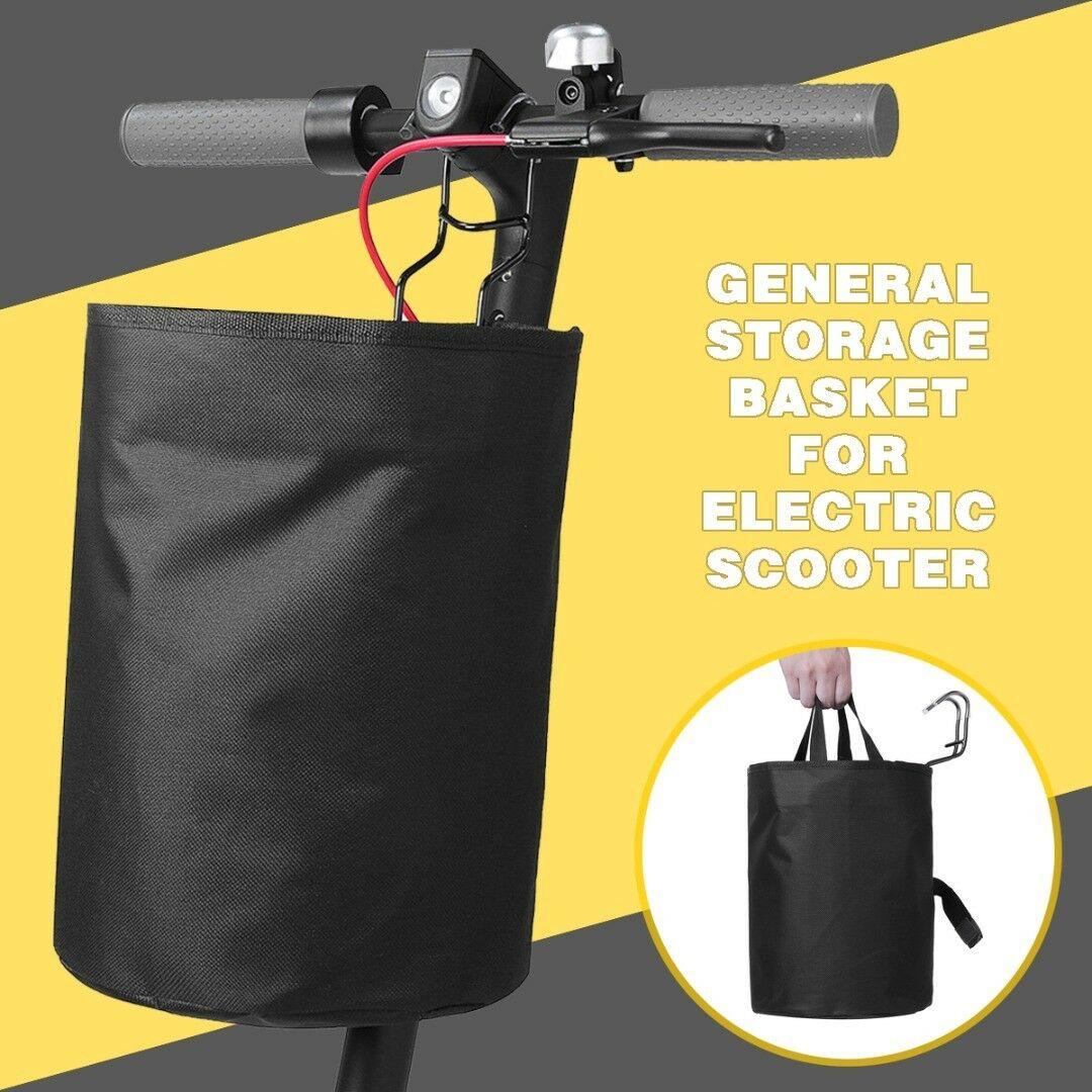 Electric Scooter Pet Bag Basket Carry Front Saddle  For Xiaomi Mijia M365 Scooter Parts Electric Skateboard Bike Storage Handbag