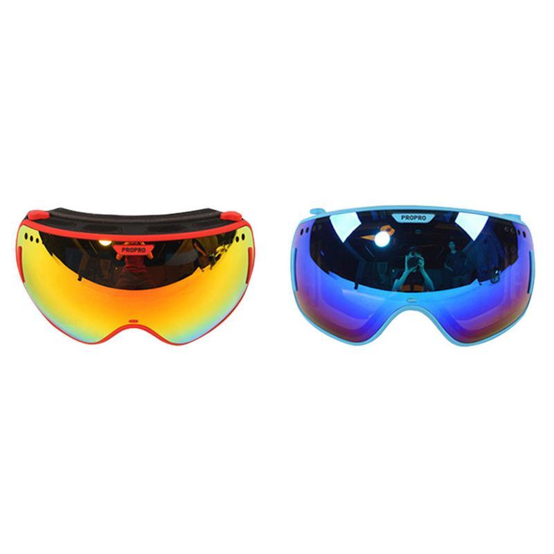 PROPRO nouvelles lunettes de Ski ensoleillé/nuageux Snowboard lunettes masque planche à roulettes patinage lunettes vélo équitation rapide Moto sports de plein air sécurité