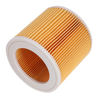 4 pçs filtro de poeira ar hepa para karcher filler 1000 a2200 a3500 a223 wd2.200 wd3.500 karcher peças aspirador mv2 mv3 wd3