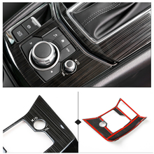 For Mazda CX 5 CX 5 2017 2018 Stainless Steel Car Gear Shift Electronic Handbrake Panel Cover ONLY LHD
