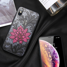 KISSCASE 3D Lace Floral Case For Huawei Honor 8X 7A 9 10 Rose Embossed Phone Cover Nova 2 2Plus 2S 3 3i 7X Cases