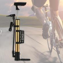 Портативный мини-велосипедный ручной воздушный насос, шариковый насос для шин, насос из алюминиевого сплава высокого давления для езды на велосипеде, MTB, горный велосипед, насос