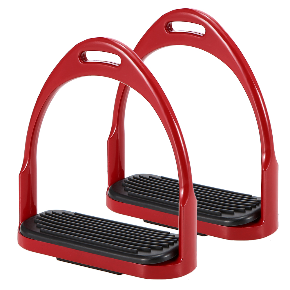 Image 2 - Horse Riding Stirrups Flex Aluminum Horse Saddle Anti skid Horse Pedal Equestrian Safety Equipment-in Horse Care Products from Sports & Entertainment